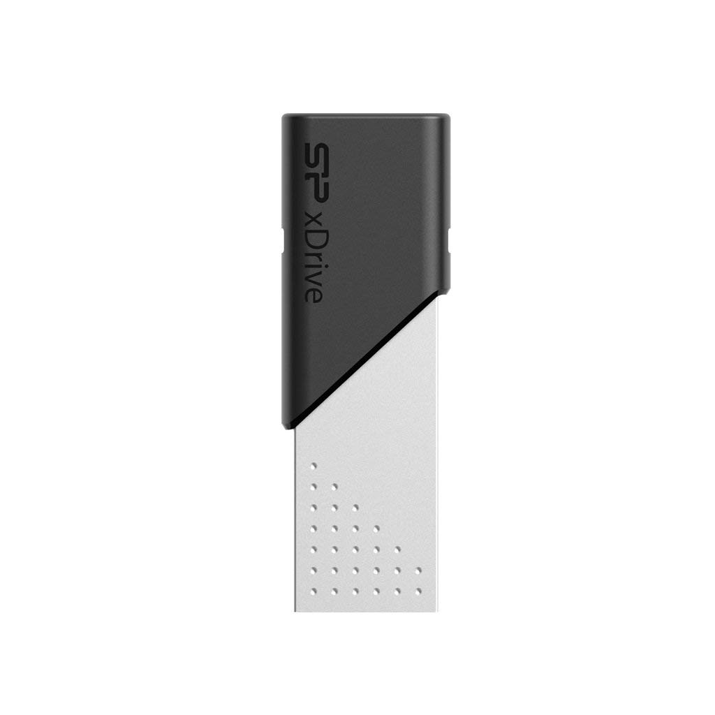 Silicon Power OTG Dual Flash Drive Lightning 64GB USB 3.1
