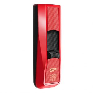 Silicon Power Flash Drive Blaze B50 32GB USB 3.0-RED