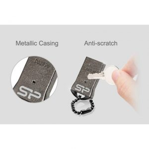 Silicon Power Flash Drive Touch T01 16GB-Metal