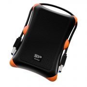 Silicon Power Portable Hard Drive Armor A30_Shockproof 1TB USB 3.1 Black