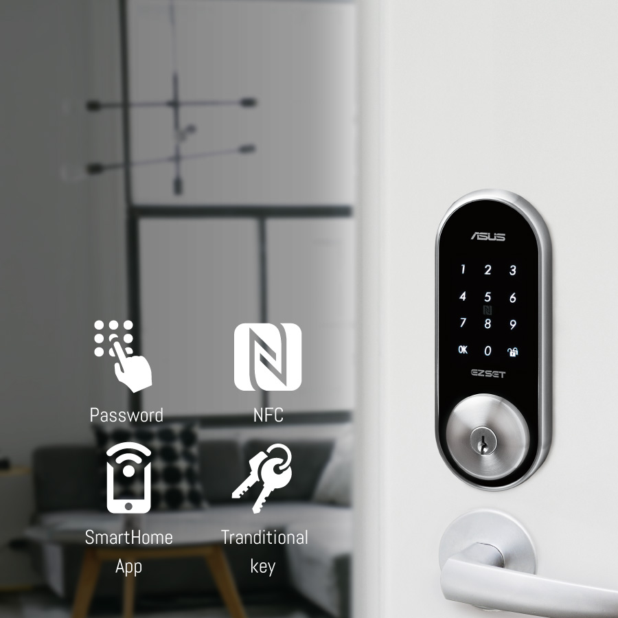 Asus Smart Home Door Look